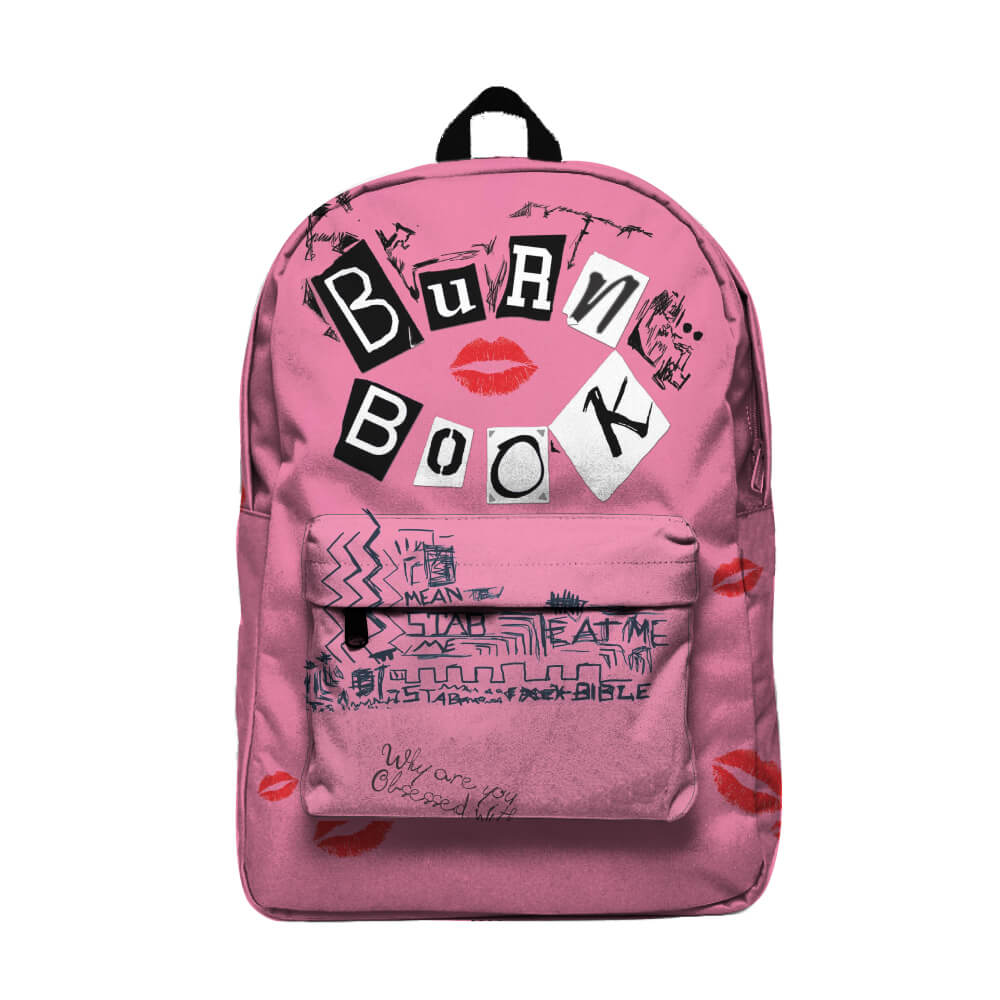 Burn Book Mochila Backpack