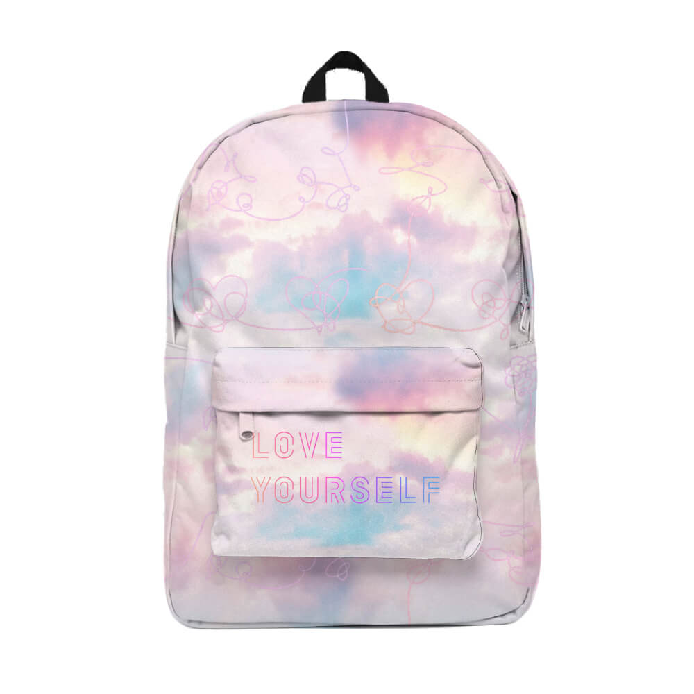 BTS Love Yourself Mochila Backpack