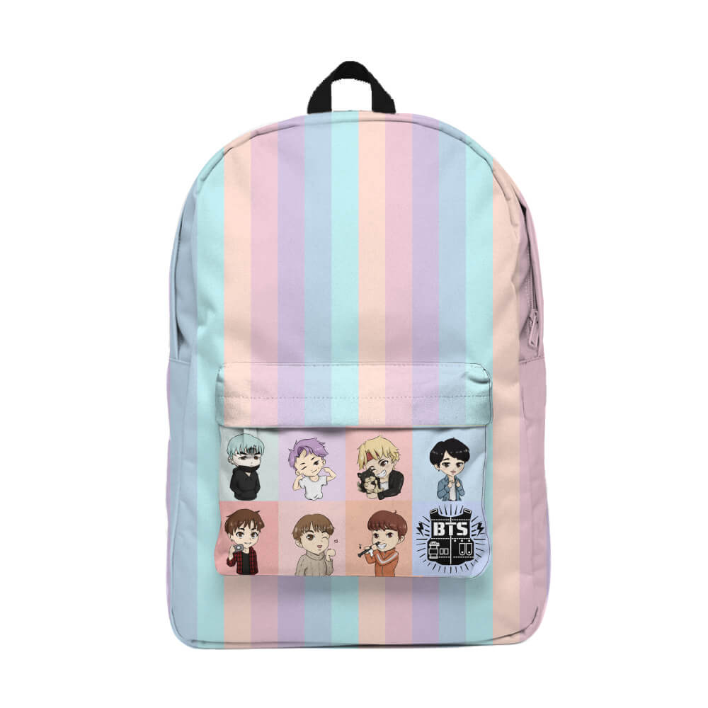 BTS Army Mochila Backpack
