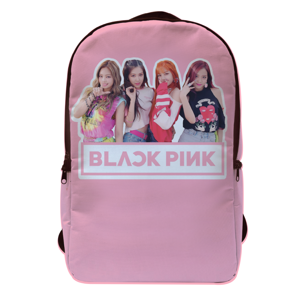 Black Pink Group Mochila Porta Laptop