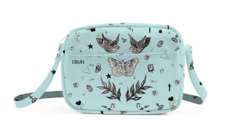 Harry Tattoo Blue Bolsa Crossbody