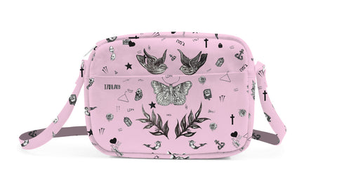 Harry Tattoo Rose Bolsa Crossbody