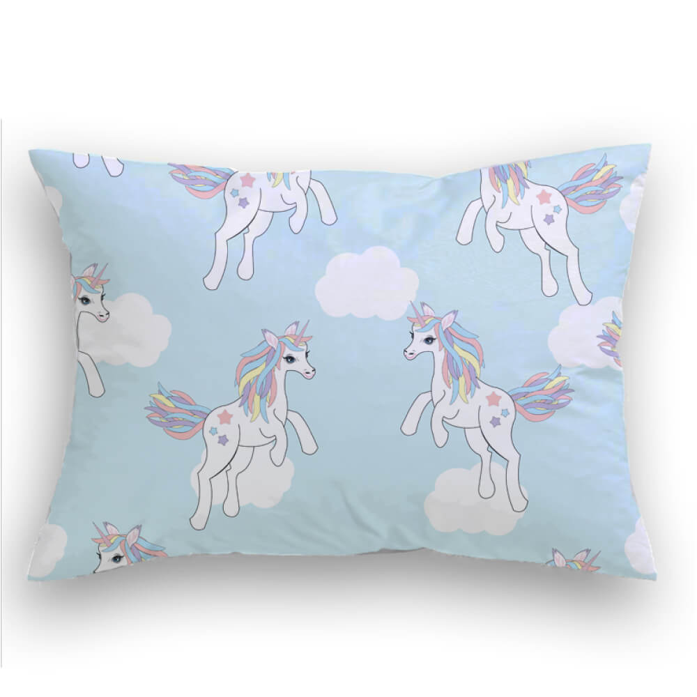 Unicorn Fantasy Cojin decorativo