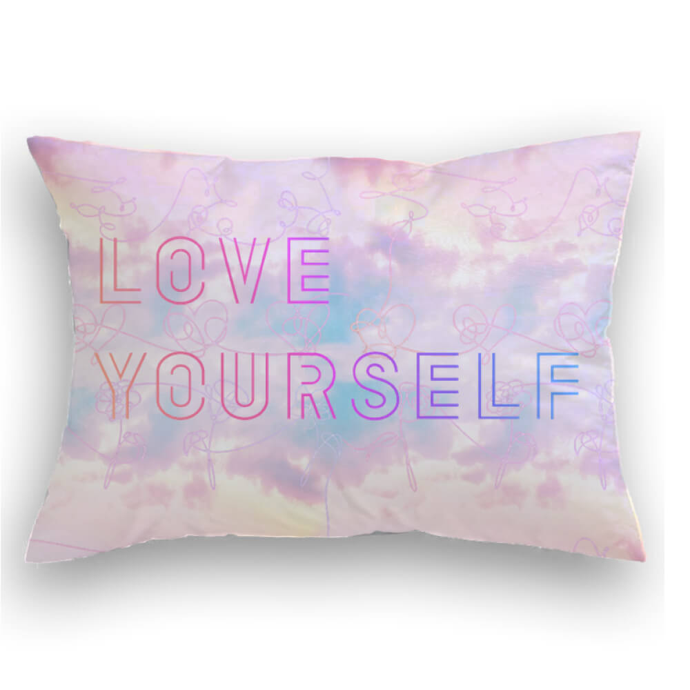 BTS Love Yourself Cojin decorativo