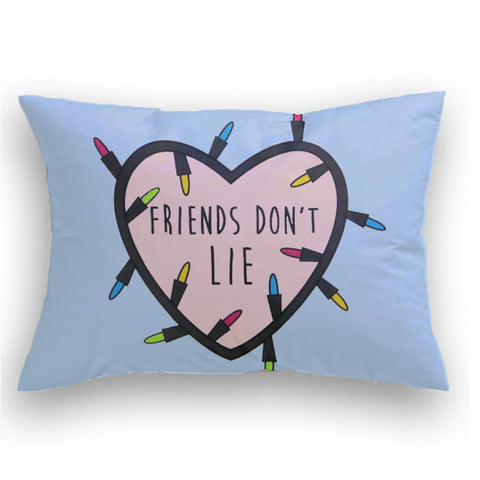 Friends Don't Lie Cojin decorativo