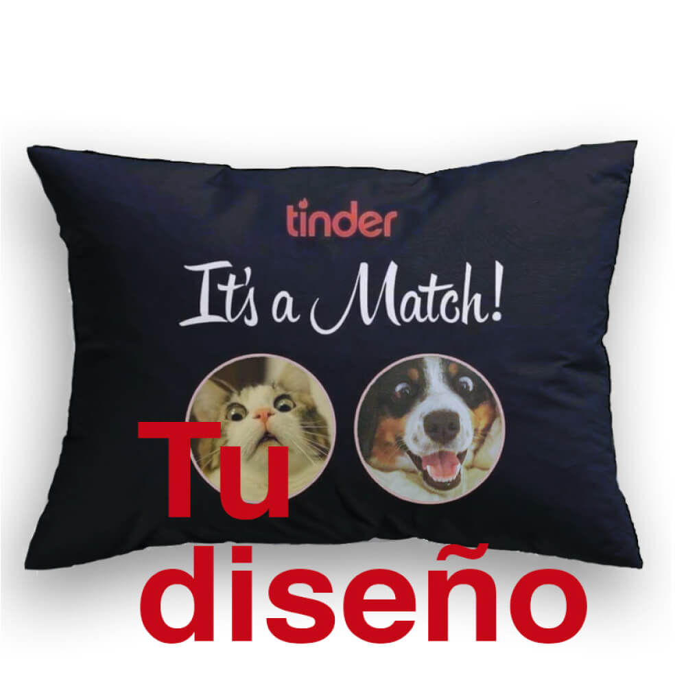 It's a Match Cojin decorativo