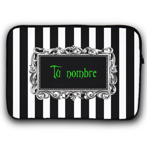 A Nightmare Con tu nombre Funda Laptop