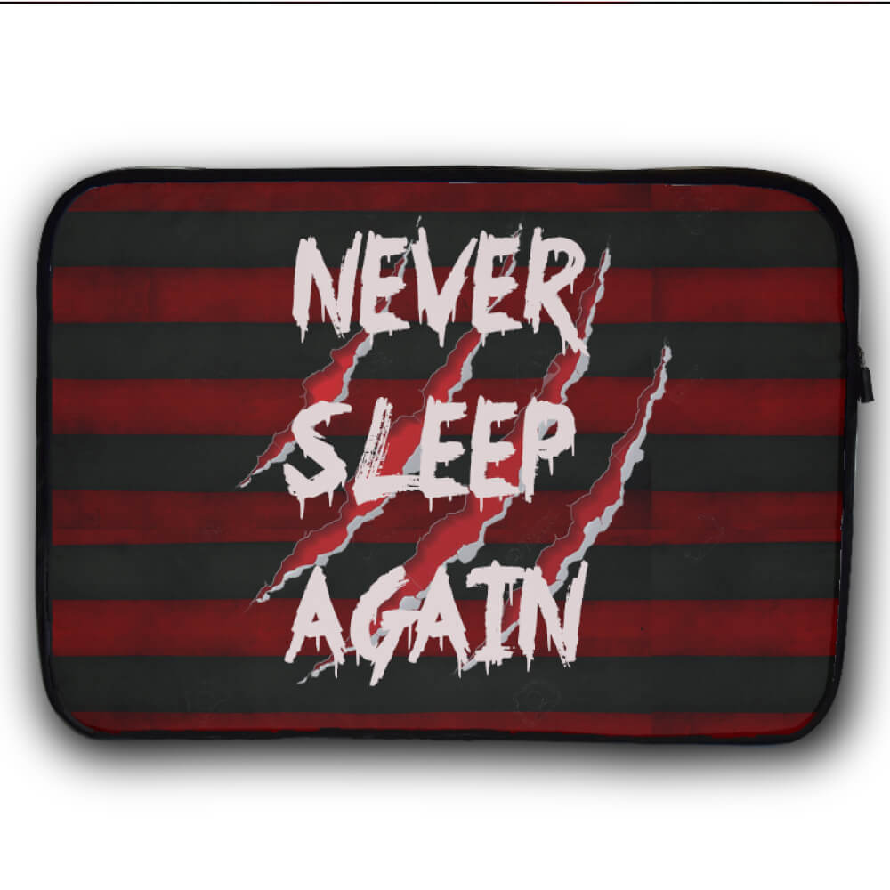 Never Sleep Again Funda Laptop