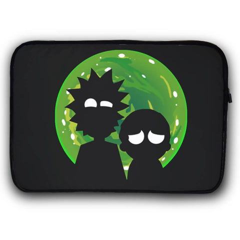 Rick and Morty Dark Funda Laptop