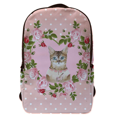 Cinderella Kitty Mochila Porta Laptop