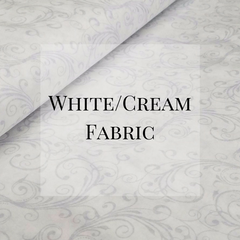 Mystic Sunset - White/Cream Fabric Collection