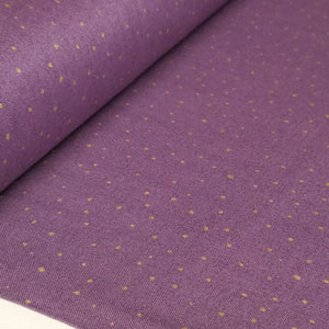 Lilac Gold Dot Fabric from Quilting Treasures Bellisima Collection
