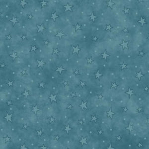 Blue Starry Basics Fabric 8294-17 Henry Glass - Mystic Sunset
