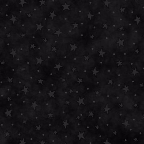Black Starry Basics Fabric 8294-99 Henry Glass - Mystic Sunset