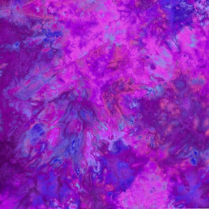 Purple Gemstone Batik Fabric - Henry Glass & Co.
