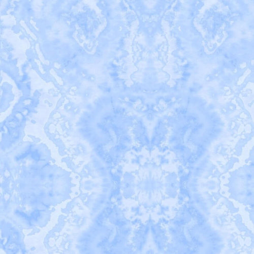 Blue Flannel Fabric - Comfy Blender - A.E. Nathan