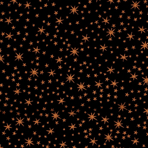 Metallic Copper Stars Fabric From Quilting Treasures
