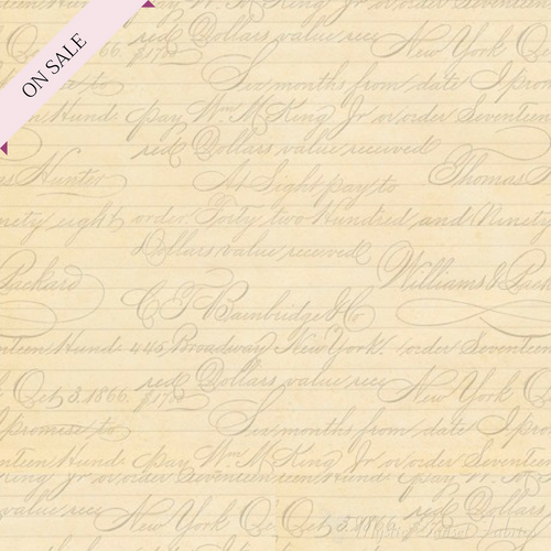 Cream Script - La Vie En Rose 24263-E - Mystic Sunset