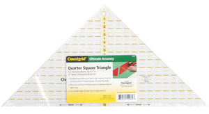 "12"" Omnigrid Quarter Square Triangle Quilting Ruler"