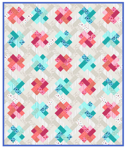 Sweet Caroline Kisses Quilt Pattern - Mystic Sunset