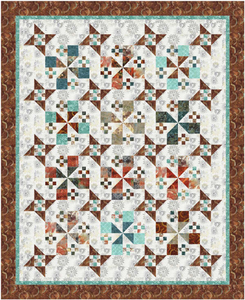 Star Studded Ladies Quilt Pattern - Mystic Sunset