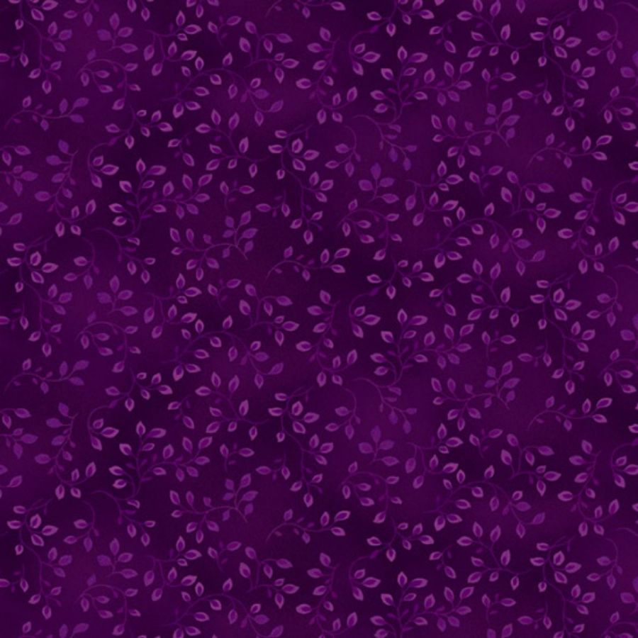 Violet Tonal Fabric - Folio Basics 7755-55 - Mystic Sunset