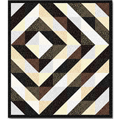 Metals Quilt Pattern - Mystic Sunset