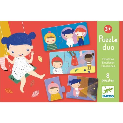 Puzzle duo - emotions - Mousse Café, coopérative de solidarité