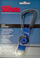 Carabiner Key Chain Compass