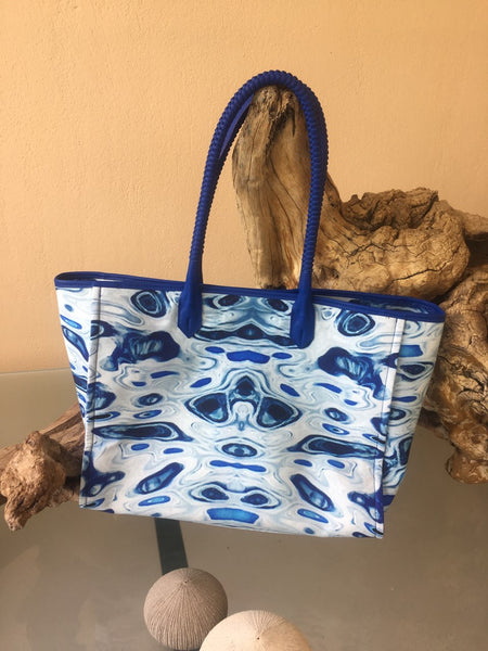 'Seaeyes Blue' Tote Bag