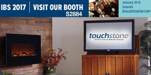 Press Release: Touchstone Home Products Showcases Sideline Electric Fireplaces at the 2017 NAHB International Builders Show