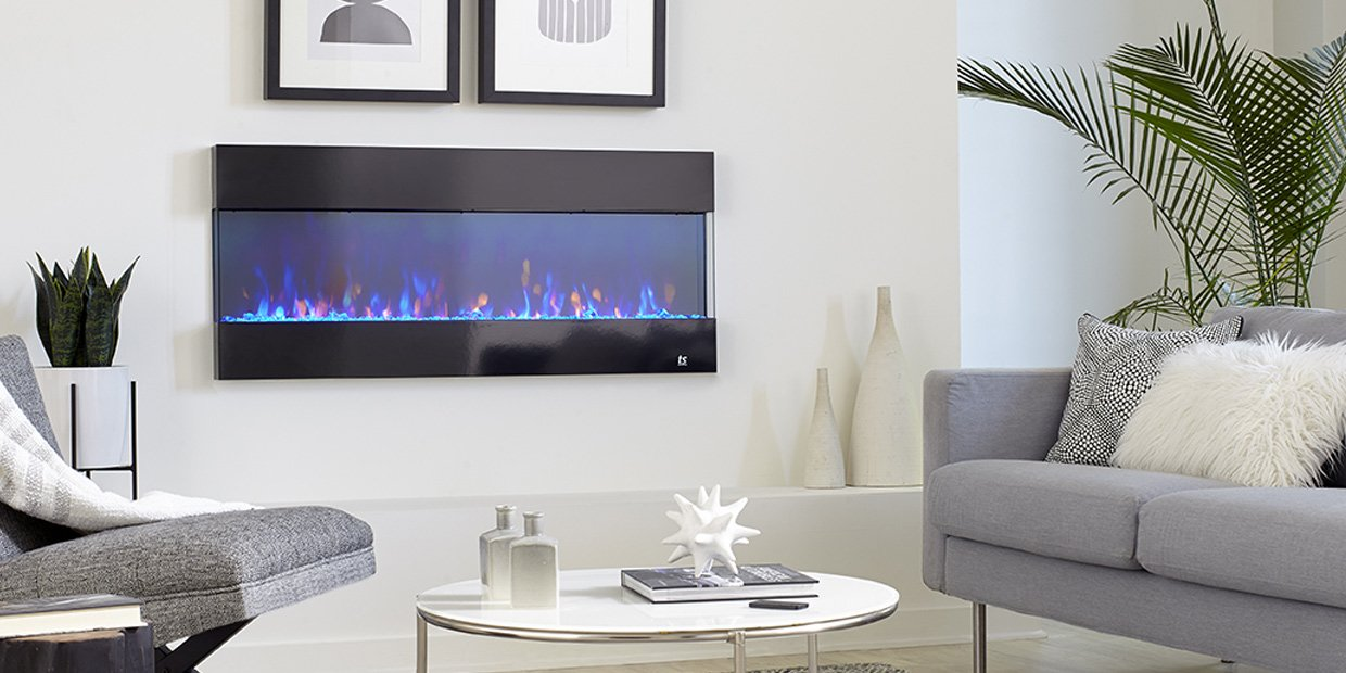 All Around Ambiance: The New Touchstone Fury 3-Sided Electric Fireplace