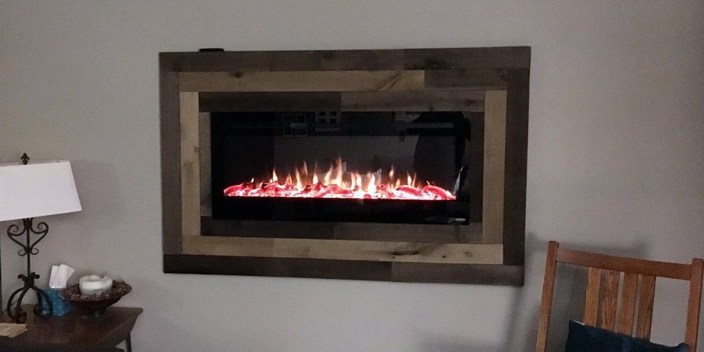 Frame It Picture Perfect Recessed Electric Fireplace Installations