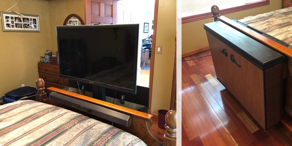 The Best TV Lift Mechanisms For Tight Spots