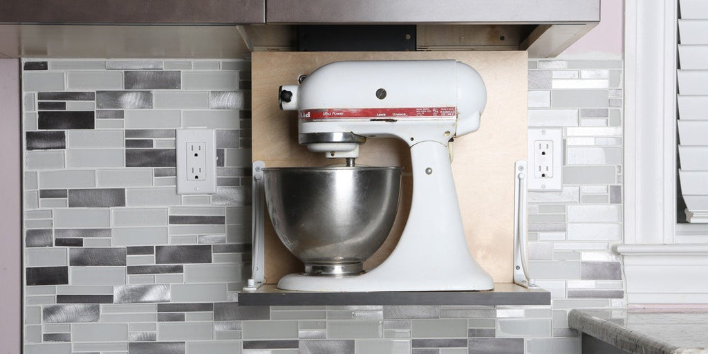 Hidden Kitchen Storage: How to Install a Motorized Lift For Small ...