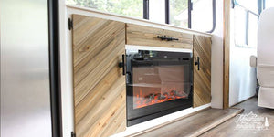 RV Renovation: Fireplace Inserts and TV Lifts for RVs, Campers and Motor Homes