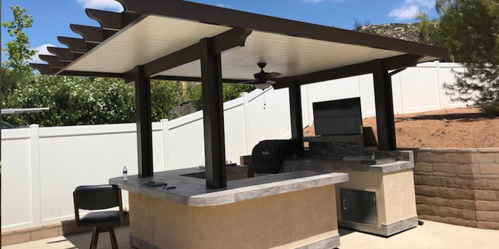 Backyard Oasis: Outdoor Living TV Lifts and Electric Fireplaces