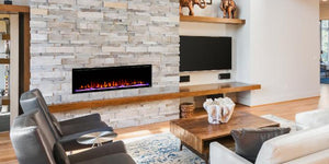 Meet the Elite: The New Touchstone Sideline Elite Electric Fireplace Collection