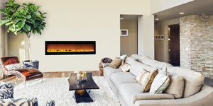 Wall Mount or Recessed Mount? Choose the Best 72-inch Electric Fireplace For Your Space