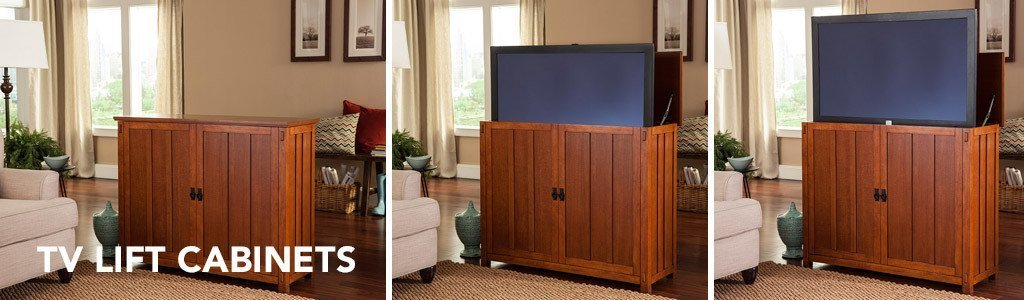 Awesome TV Lift Cabinets