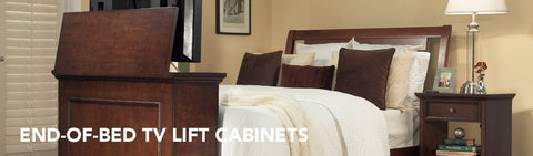all endofbed tv lift cabinets