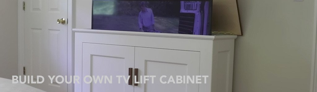 build your own tv lift cabinet featuring jon peters art. Black Bedroom Furniture Sets. Home Design Ideas