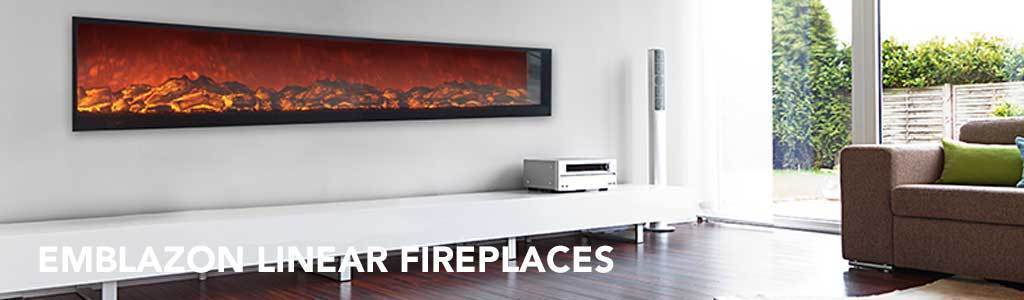 Emblazon Frameless Electric Fireplaces
