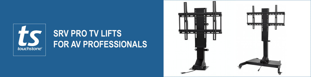 SRV Pro TV Lifts for AV Professionals