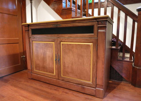 Touchstone Adonzo Unfinished TV Lift Cabinet