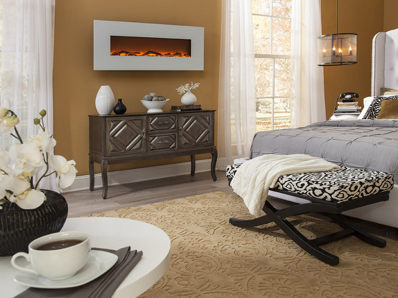 electric fireplace benefits