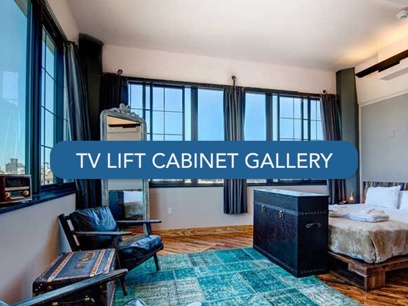 Touchstone TV Lift Cabinet Photo Gallery