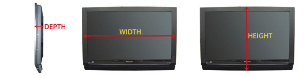 How to measure your TV for the best fit in a Touchstone TV lift cabinet in three steps