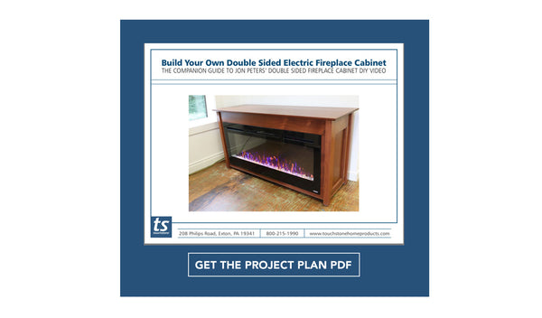 Wondrous Build Your Own Electric Fireplace Cabinet Project Plans By Beutiful Home Inspiration Truamahrainfo