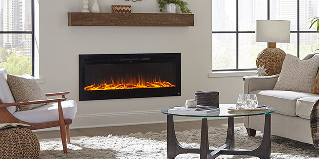 Why Touchstone Electric Fireplaces are better than gas or wood burning fireplaces
